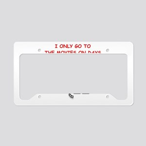 MOVIES2 License Plate Holder