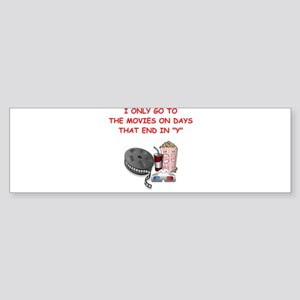 MOVIES2 Bumper Sticker