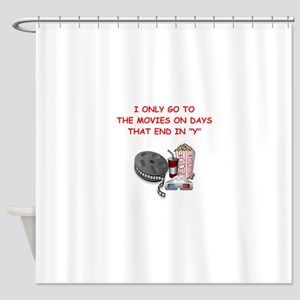 MOVIES2 Shower Curtain