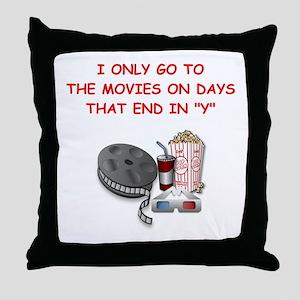 MOVIES2 Throw Pillow