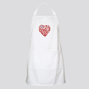 Michigan Heart Apron
