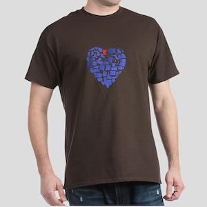 Minnesota Heart Dark T-Shirt