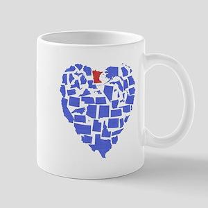 Minnesota Heart Mug