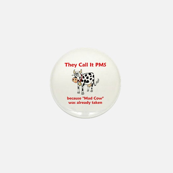 Mad Cow! Mini Button