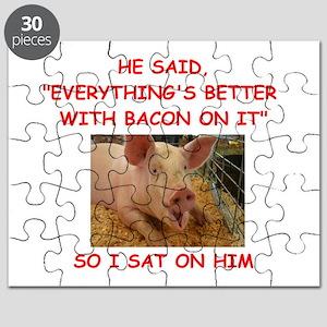 pig humor Puzzle