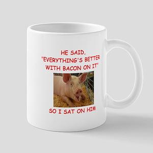 pig humor Mugs