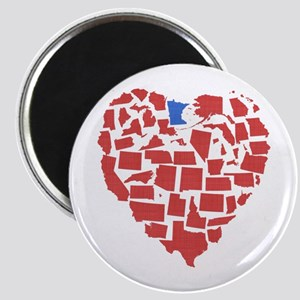 Minnesota Heart Magnet