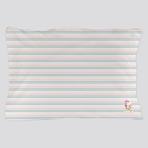 Floribunda Stripes Pillow Case