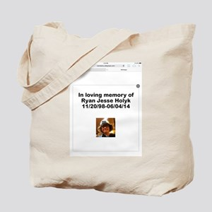 Ryan Holyk  Tote Bag
