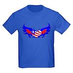 Heart Flag ver2 Kids Dark T-Shirt