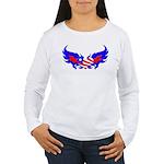 Heart Flag ver2 Women's Long Sleeve T-Shirt