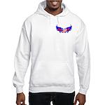 Heart Flag ver2 Hooded Sweatshirt