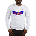 Heart Flag ver2 Long Sleeve T-Shirt