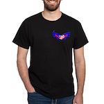 Heart Flag ver2 Dark T-Shirt