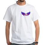 Heart Flag ver2 White T-Shirt