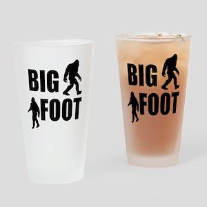 Bigfoot Drinking Glass