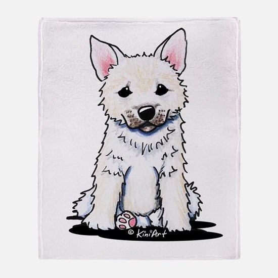 Norwegian Buhund Throw Blanket
