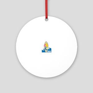 Rido The Wave! Ornament (Round)