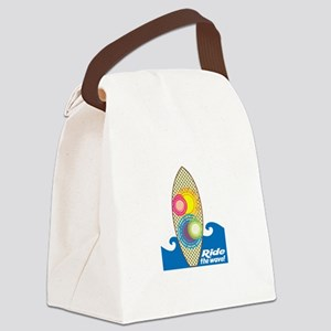 Rido The Wave! Canvas Lunch Bag