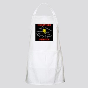 I Survived Physics BBQ Apron