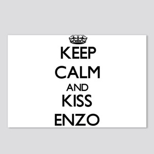 Keep Calm and Kiss Enzo Postcards (Package of 8)