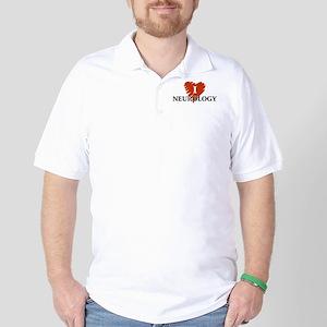 I Love Neurology Golf Shirt