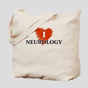 I Love Neurology Tote Bag