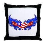 Heart Flag ver3  Throw Pillow