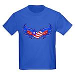 Heart Flag ver3 Kids Dark T-Shirt