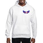 Heart Flag ver3 Hooded Sweatshirt