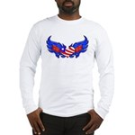 Heart Flag ver3 Long Sleeve T-Shirt
