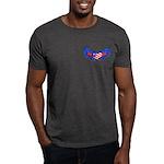 Heart Flag ver3 Dark T-Shirt