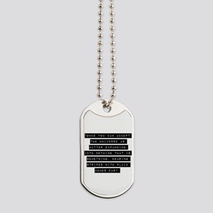 Once You Can Accept Dog Tags