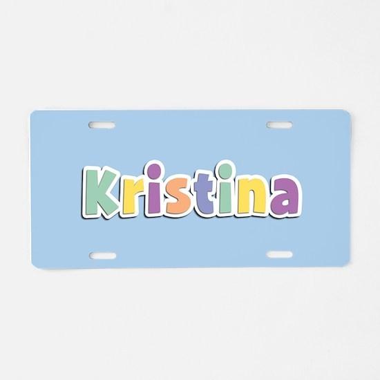 Kristina Spring14 Aluminum License Plate