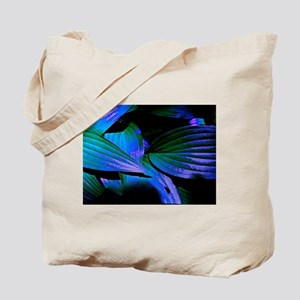 Colorful Hosta Leaves Tote Bag