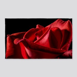 Red Rose 3'x5' Area Rug