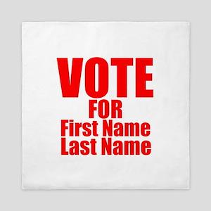 Vote For Queen Duvet