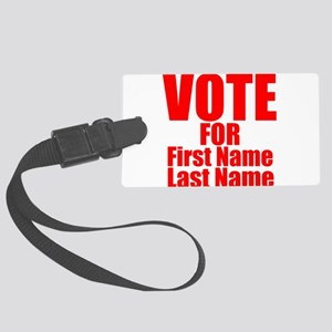 Vote For Luggage Tag