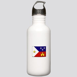 Flag of Acadiana Stainless Water Bottle 1.0L