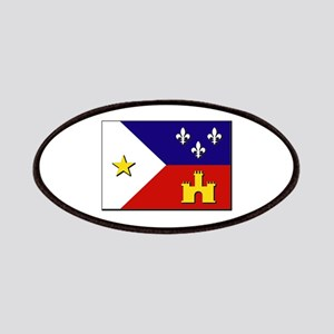 Flag of Acadiana Patches