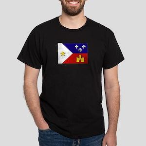 Flag of Acadiana Dark T-Shirt