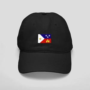 Flag of Acadiana Black Cap
