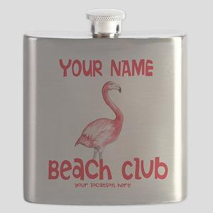 Custom Beach Club Flask