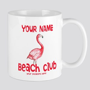 Custom Beach Club Mugs