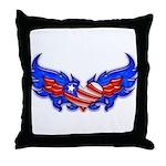 Heart Flag ver4  Throw Pillow