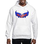 Heart Flag ver4 Hooded Sweatshirt