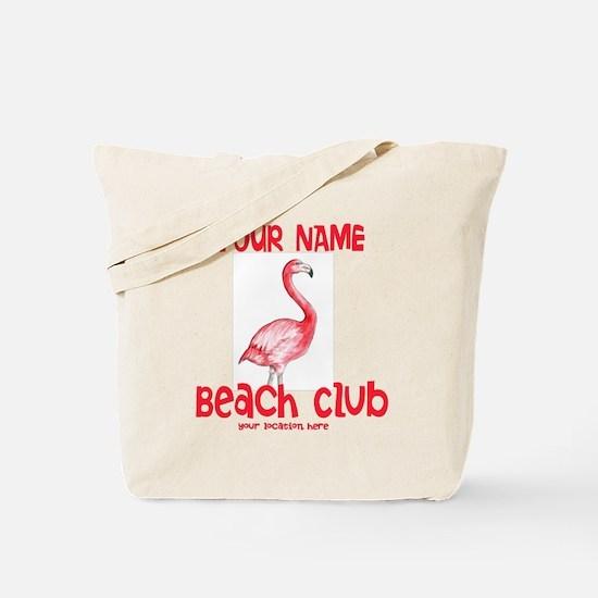 Custom Beach Club Tote Bag