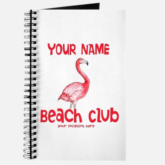 Custom Beach Club Journal