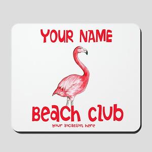 Custom Beach Club Mousepad