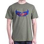 Heart Flag ver4 Dark T-Shirt